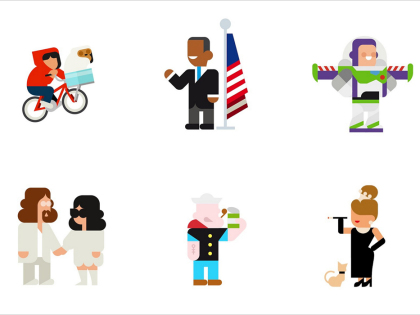 Design Studio Hey Turns Your Favorite Cultural Icons into Literal Icons