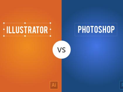 Illustrator vs. Photoshop, a Visual Comparison